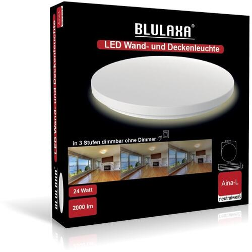 LED Aina-L rund Switch DIM 24W 2000lm 4000K 330mm